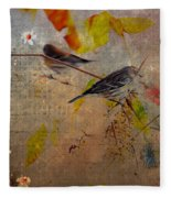Sparrow Fleece Blanket