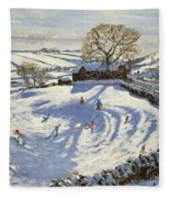 Sparrowpit Derbyshire Fleece Blanket