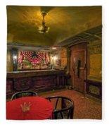 Speakeasy Club -- Butte Montana Fleece Blanket