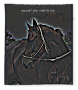Special Thoughts Fleece Blanket