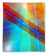 Spectrum Correction Fleece Blanket