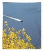 Speed Boat Fleece Blanket