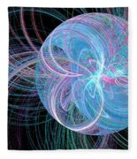 Spherical Symphony Fleece Blanket
