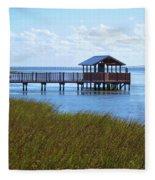 Spi Birding Center Boardwalk Fleece Blanket
