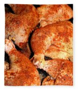 Spicy Chicken Fleece Blanket