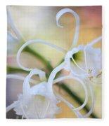 Spider Lily 3 Fleece Blanket