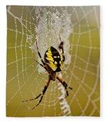 Spider Power Fleece Blanket