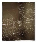 Spider Web 1.0 Fleece Blanket