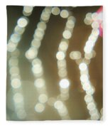 Spider Web Bokeh 3.0 Fleece Blanket