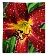Spiderman The Day Lily Fleece Blanket