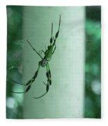 Spiders - Mr And Mrs Fleece Blanket