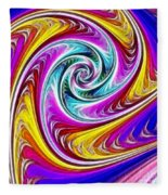 Spiral Fleece Blanket