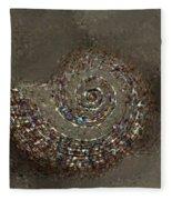 Spiral Textures Fleece Blanket