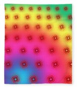 Spirals Fleece Blanket