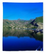 Spirit Lake  Fleece Blanket