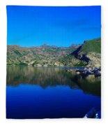 Spirit Lake  Fleece Blanket