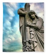 Spiritual Healing Fleece Blanket