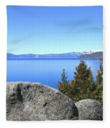 Splendid Lake Tahoe Fleece Blanket