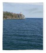 Split Rock Lighthouse 80 Fleece Blanket