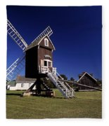 Spocott Windmill Fleece Blanket