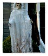Spooky Flight Fleece Blanket