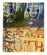 Spread Truth Angels Fleece Blanket
