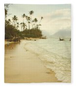 Sprecks Beach Fleece Blanket