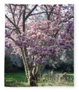 Spring Blooming Fleece Blanket