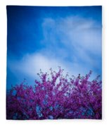 Spring Buds Fleece Blanket