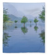 Spring Hanging Garden Fleece Blanket