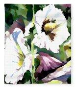 Spring Holly Fleece Blanket
