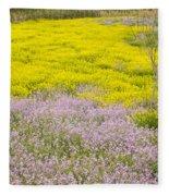 Spring In Spain Fleece Blanket