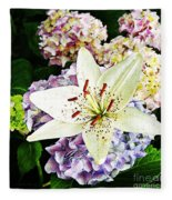 Spring Pastels  Fleece Blanket