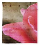 Spring Sings Fleece Blanket