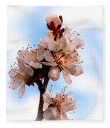 Spring Time Fleece Blanket