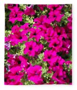 Springtime Flowers Fleece Blanket