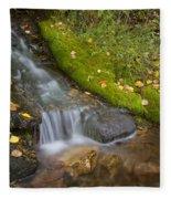 Sprinkle Of Autumn Fleece Blanket