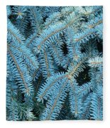 Spruce Conifer Nature Art Prints Trees Fleece Blanket