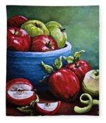 Srb Apple Bowl Fleece Blanket