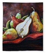 Srb Pears Fleece Blanket