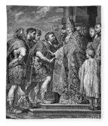 St. Ambrose & Theodosius Fleece Blanket