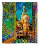 St Basils Fleece Blanket