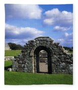 St Brigids Church, Inis Cealtra Holy Fleece Blanket