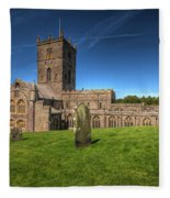 St Davids Cathedral 6 Fleece Blanket
