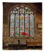 St Dyfnog Church Fleece Blanket