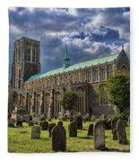 St Edmund King And Martyr Southwold Fleece Blanket