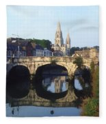 St. Finbarres Cathedral, Cork, Co Cork Fleece Blanket