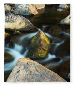 St Francis River At Dusk II Fleece Blanket