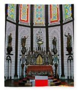 St. Francis Xavier Cathedral  Fleece Blanket