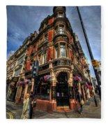 St James Tavern - London Fleece Blanket